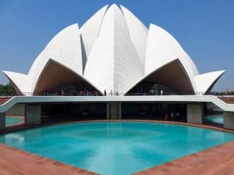 Lotustempel Bahai Tempel Neu-Delhi