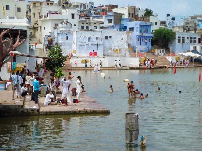 Pushkar See Indien