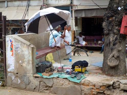 Schuster in Indien