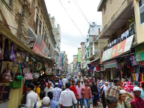Straße Ajmer Indien