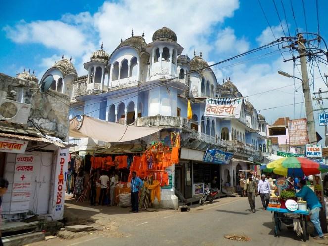 Straße Pushkar Indien