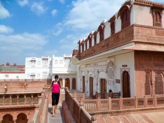 Terrasse Junagarh Fort