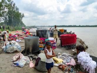 Wäscherei Agra Indien