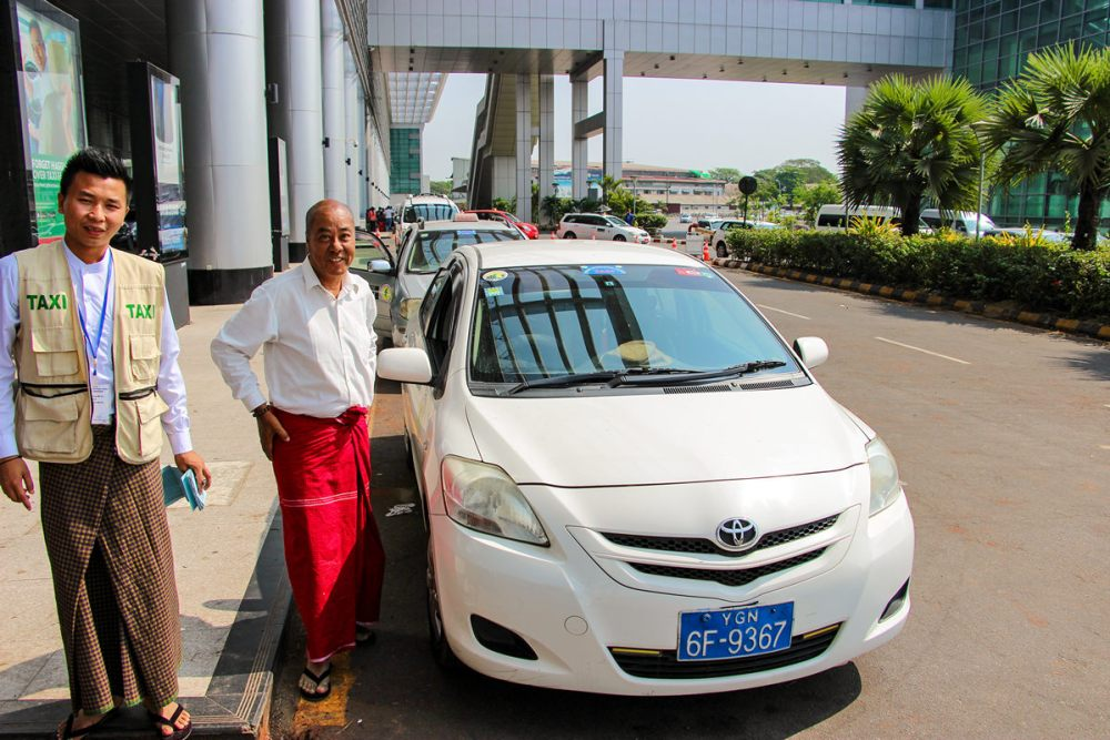 Airport Transfer Yangon