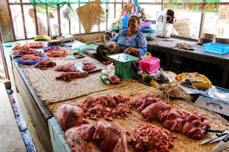Fleischstand Myangyan