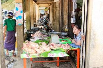 Lokaler Markt Myngyan