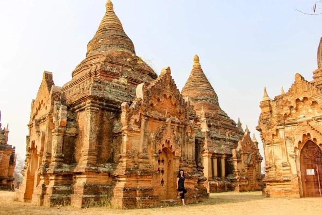 Kleine Pagoden Winido Tempel