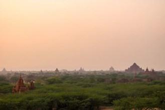 Pagoden Sonnenuntergang Bagan