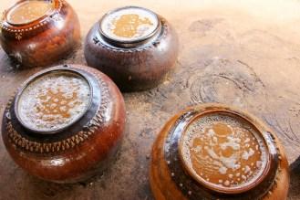 Palmzucker wird hergestellt