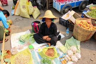 Pa-o Frau Markt Taunggyi