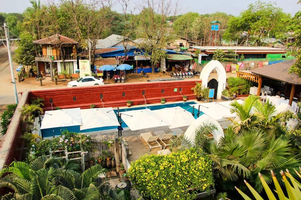 Zfreeti Hotel Nyaung U Bagan