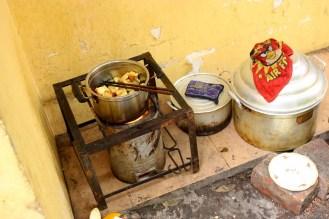 Einfache Küche