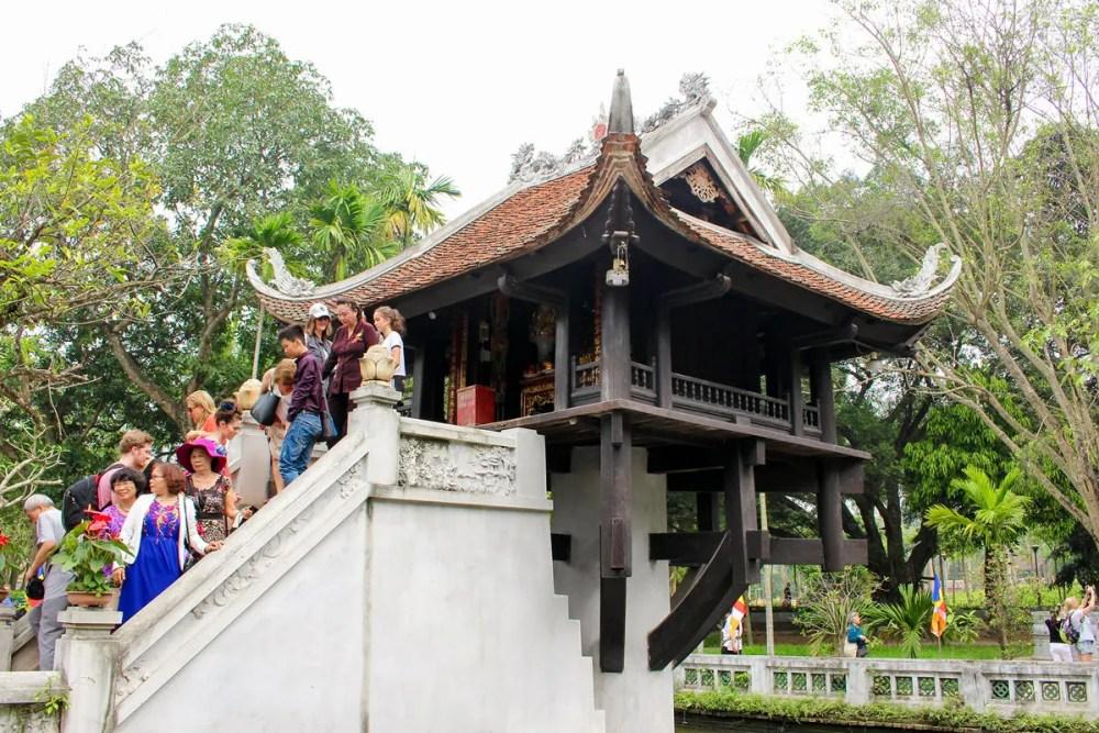 Einsäulenpagode Hanoi