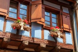 Fenster Fachwerkhaus Eguisheim