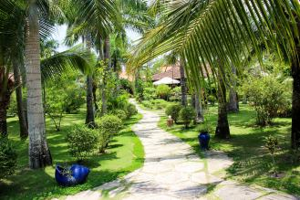 Gartenanlage Thanh Kieu Beach Resort