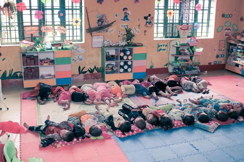 Kindergarten in Sin Chai Village Sa Pa