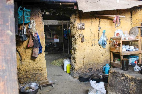 Lehmhaus Vietnam Ban Pho Village