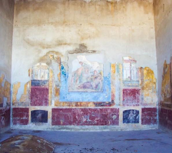Wandmalerei Villen Stabiae