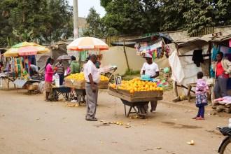 Markt Nairobi Slum