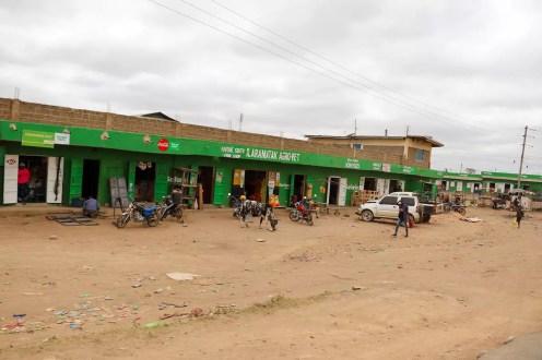 Straße Kenia
