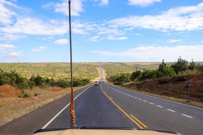 Strassen Kenia