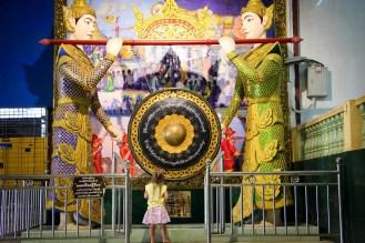 Buddhistischer Tempel Gong