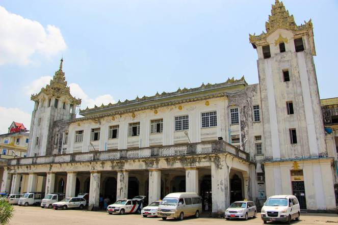 Central Railway Station Yangon