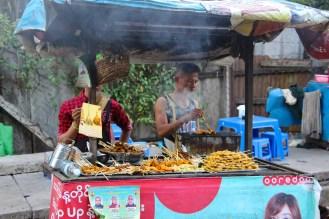 Garküche Yangon
