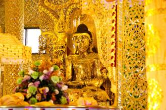 Goldener Buddha Botataung Pagode