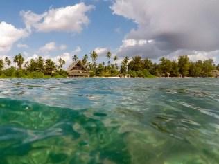 Matemwe Beach vom Meer
