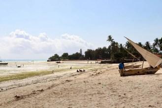 Nungwi Beach Ebbe