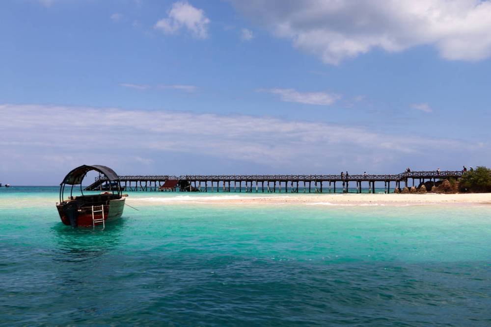 Prison Island Beach Zanzibar
