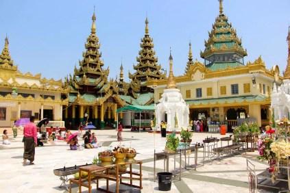 Shwedagon Pagode Tempelanlage