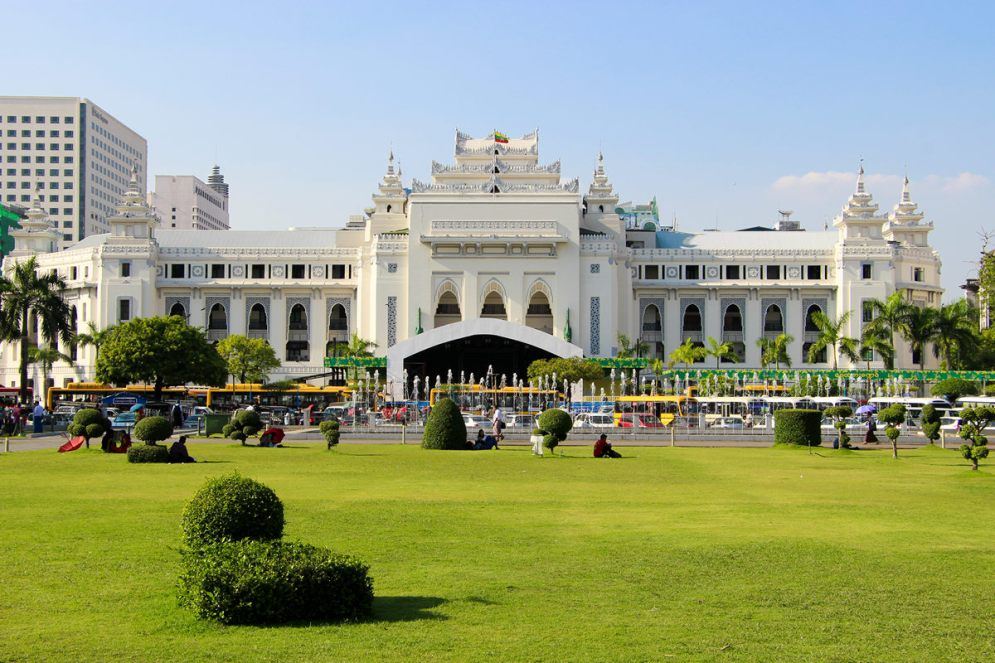 Kolonialgebäude Yangon City Hall