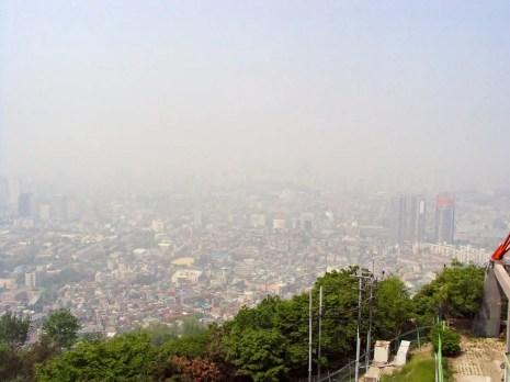 Aussicht vom Berg Namsan