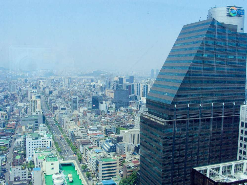 Aussicht Gangnam