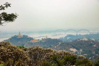 Aussicht Sagaing Hill