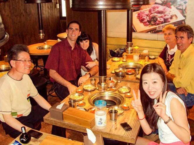 Bornga Restaurant koreanisches BBQ