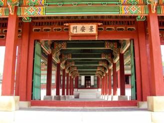 Eingang zur Taewon-jeon Hall Gyeongbokgung