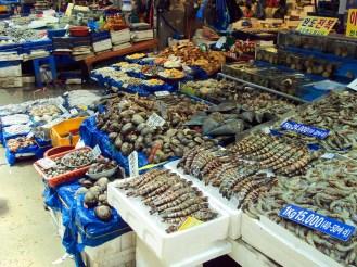 Fischmarkt Noryangjin Seoul