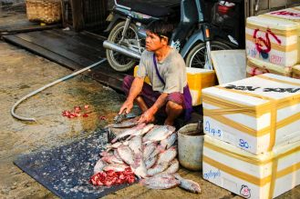 Fish Market Mandalay