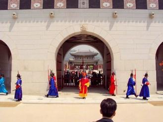 Gwanghwamun Tor Wachablösung Seoul