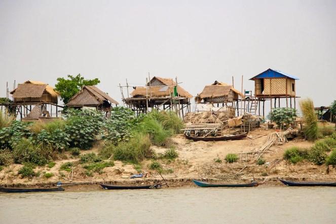 Häuser Irrawaddy