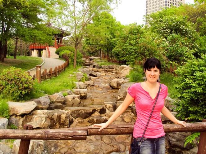 Yeouido Park Seoul Südkorea