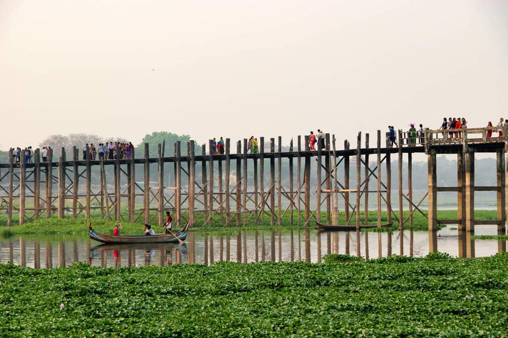 U Bein Bridge Amarapura