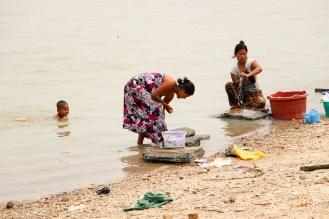 Waschen Irrawaddy