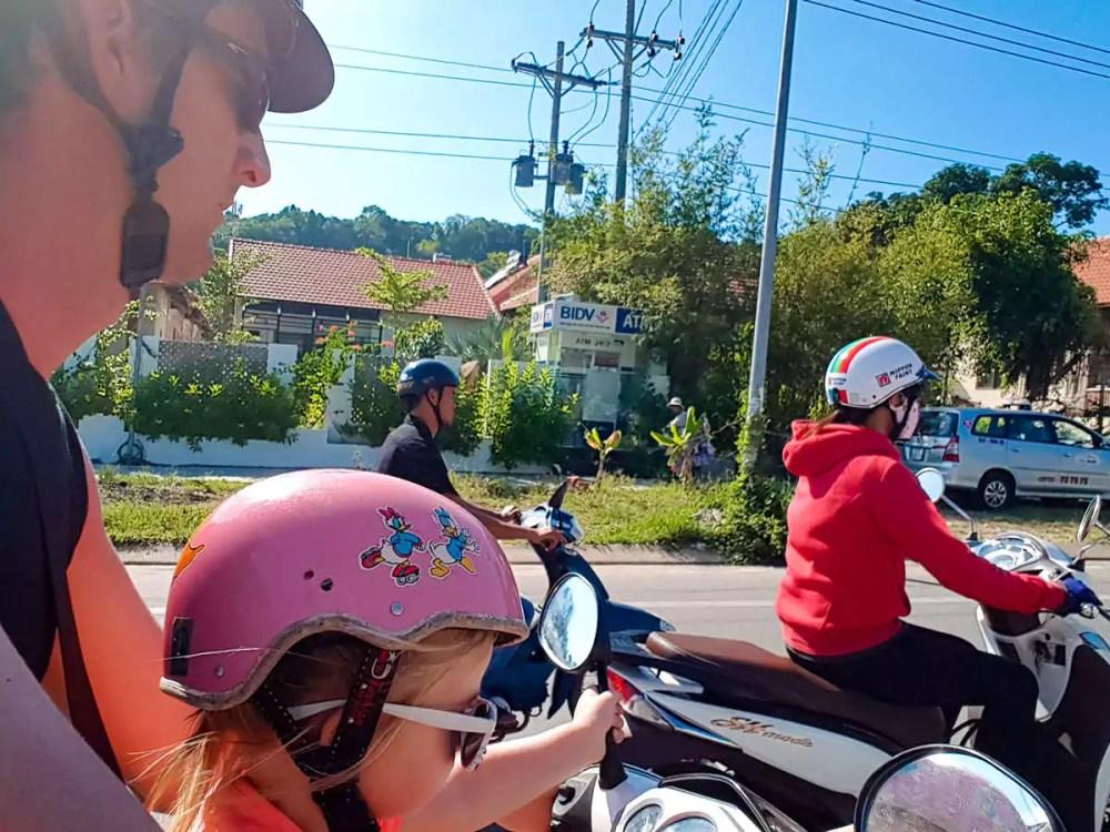 Mit Moped auf Phu Quoc unterwegs