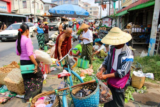 5-Tage Markt am Inle-See