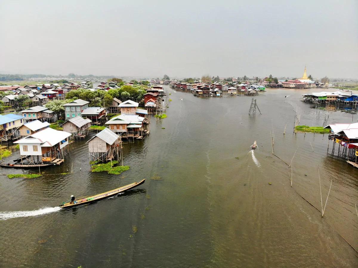 Inle See in Myanmar