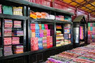 Shop in der Lotosweberei am Inle See